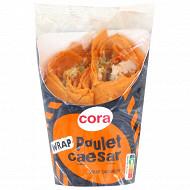 Cora sandwich wrap poulet caesar 180g