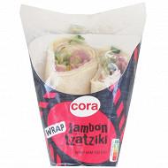 Cora sandwich wrap jambon tzatziki 180g