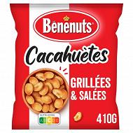 Bénénuts cacahuètes grillées salées 410g