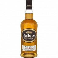 Glen turner single malt scotch whisky 12 ans 70cl 40%vol