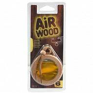Carlinea desodorisant voiture air wood vanille