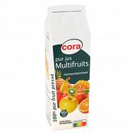 Cora pur jus multifruits brique 1l