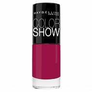 Colorshow vernis à ongles N°352 dowtown red NU