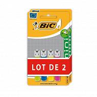 Bic 4 briquets standard 2 lots