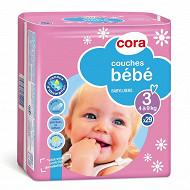 Cora baby couches bébé  taille 3 4/9kg x29