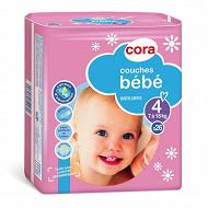 Cora baby couches bébé  taille 4 (7 à 18kg) x26