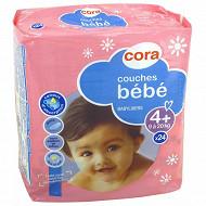 Cora baby couches bébé taille 4+ (9 à 20kg) x24
