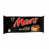 Mars barre chocolat caramel x7 315g