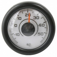 Carlinea thermomètre aiguille fond blanc