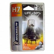 Michelin ampoule voiture H7 life +50% 55 watts