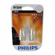 Philips ampoules premium w16w 12 volts 16 watts