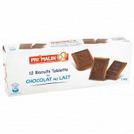 Biscuit tablette parfum chocolat au lait 150g