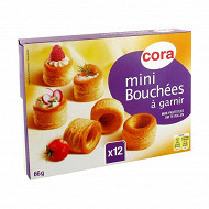 Cora 12 mini bouchées à garnir 66g
