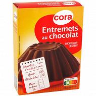 Cora entremets au chocolat 232g