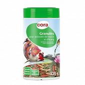 Cora - Granules flottants pour poissons de bassin et d'etang