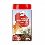 Cora - Granules pour poissons rouges