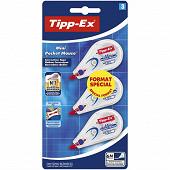 Tipp-ex ruban correcteur mini pocket mouse standard x3 offre spéciale