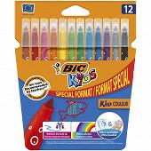 Bic feutres de coloriage kids couleur x 12