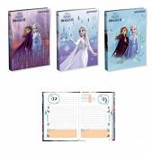 Reine des neiges agenda scolaire 12x17 cm 320 pages