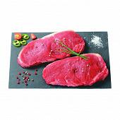 Viande bovine: faux-filet*** à griller, x2