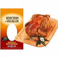 Sélection du Volailler poulet certifié rotissoire avec sac