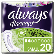 Always discreet serviettes incontinence small X20