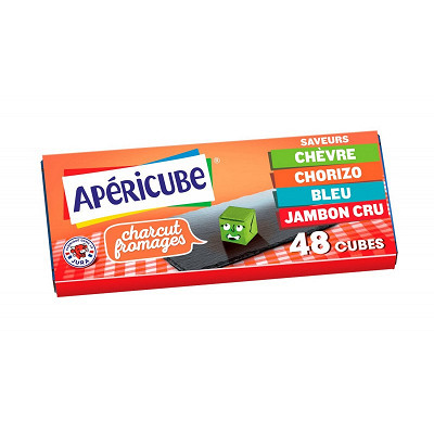 Apéricube Apéricube les saveurs charcut' 48 cubes 250 g