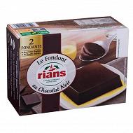 Rians dessert au chocolat et crème anglaise 2x110g
