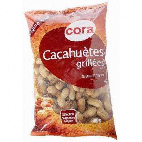 Cora Cacahuètes coques 500g