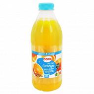 Cora pur jus orange sans pulpe frais 1 L