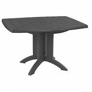 Grosfillex table vega anthracite 118x770x720 cm