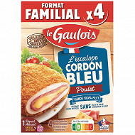 Le gaulois cordon bleu poulet x4 400g