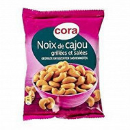 Cora noix de cajou grillées salées 125g
