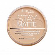 Rimmel NU poudre compacte stay matte silky beige 005 14g