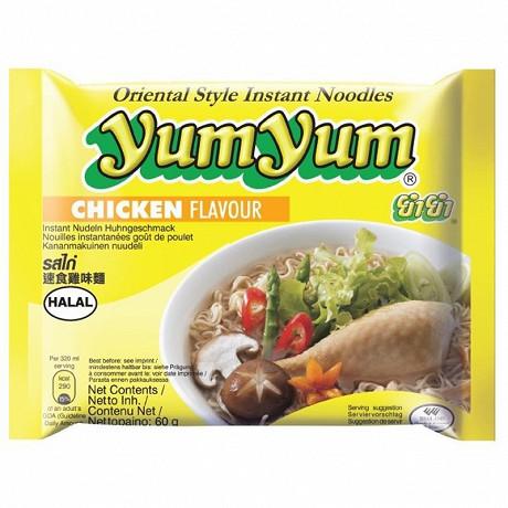 Yum Yum nouilles arôme poulet 60g
