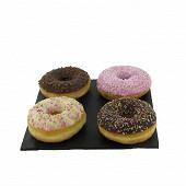 Donuts assortiment x4