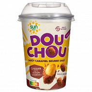 Douchou caramel beurre salé cup 250g sun