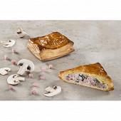 Feuillete jambon champignons (2x120g) 240g