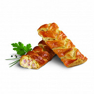 Tresse jambon fromage (2x120g)