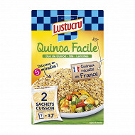 Lustucru céréales faciles duo quinoa 2x150 g