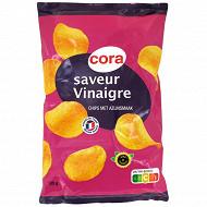 Cora chips saveur vinaigre 135g