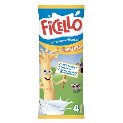 Ficello Ficello bâtonnets à l'emmental x4 - 84g