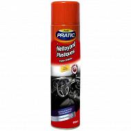 Auto pratic nettoyant plastique 600ml vanille