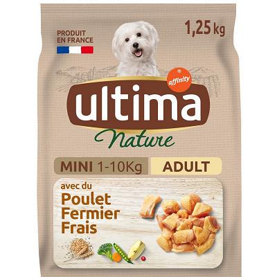 Ultima Ultima  nature chien mini poulet 1.25kg