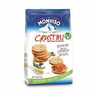 Crustini monviso bruschettine rosmarino 120g