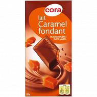 Cora chocolat au lait caramel d'Isigny à la fleur de sel de Guérande 125g