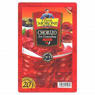 Cesar Moroni chorizo fort grandes tranches x 20 - 100 g