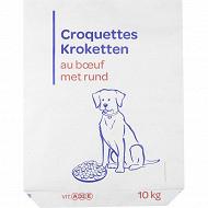 Croquettes au boeuf pour chien 10kg
