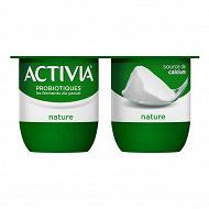 Danone Activia lait fermenté nature au bifidus 4x125 g
