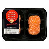 Cora paupiettes de saumon aux noix de Saint Jacques 2x125g